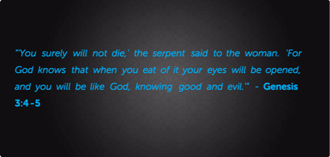 The Devil Twists the Words of God | Right From The Heart ...