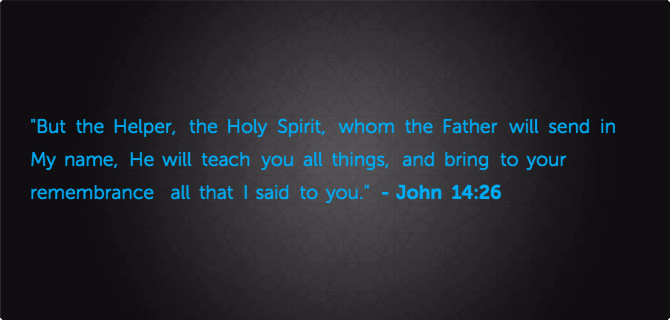 The Holy Spirit Part 1 Right From The Heart Ministries