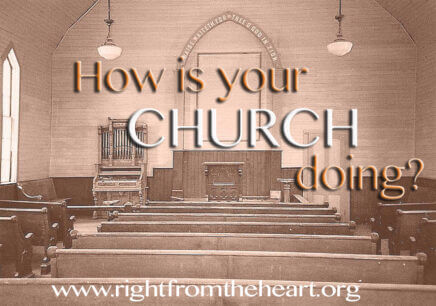 How is Your Church Doing