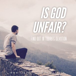 IS GOD UNFAIR