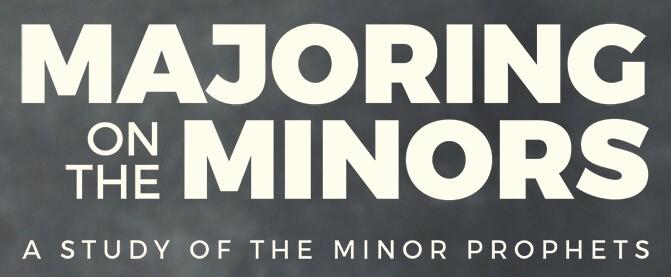 Majoring on Minors2258