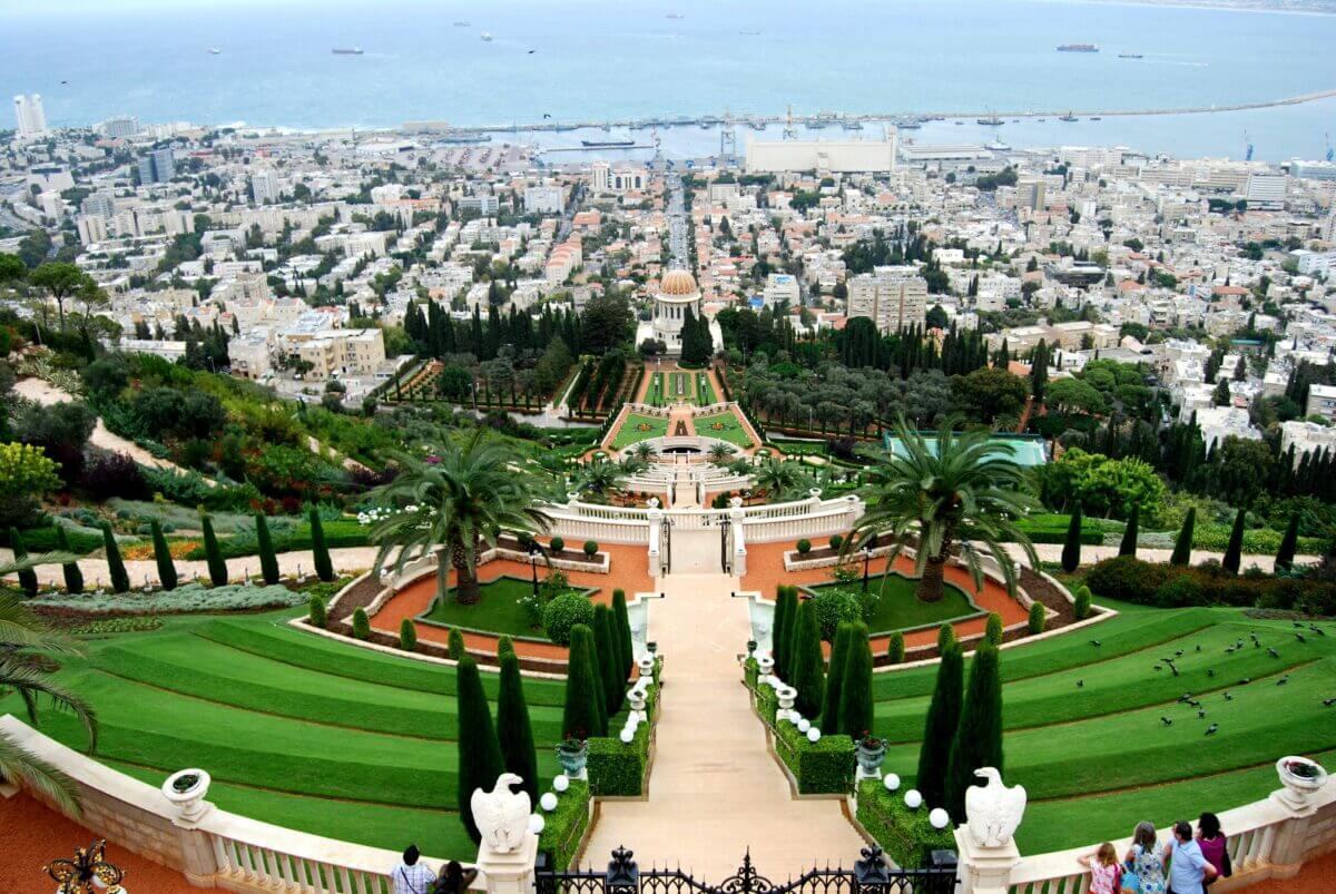 B_hai Gardens III in Haifa